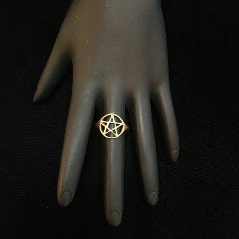 Empress Ace of Pentacle Ring