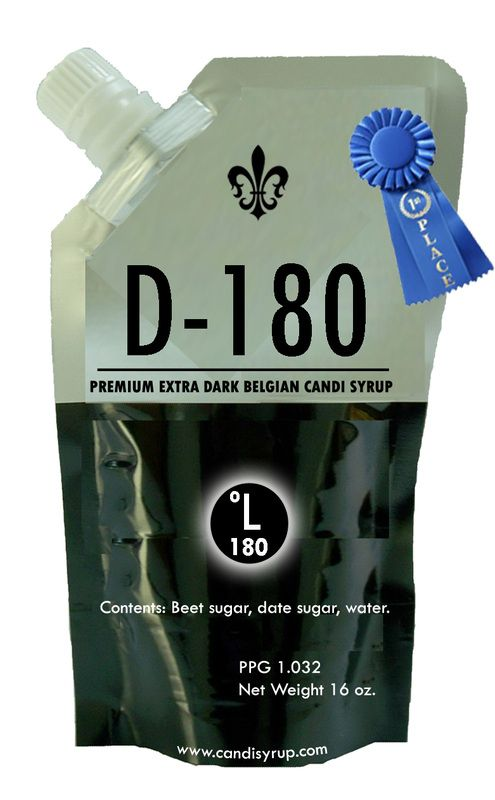Belgian Candi Syrup - Extra Dark D-180 (1 lb)