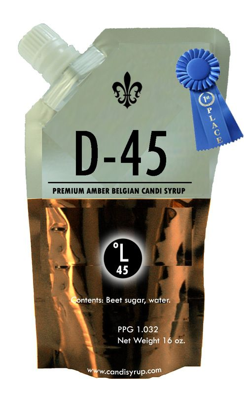 Belgian Candi Syrup - Amber D-45 (1 lb)