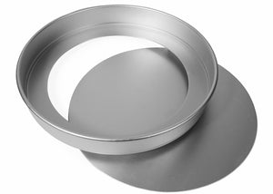 12x1 1/2 INCH ROUND SANDWICH TIN, LOOSE BASE