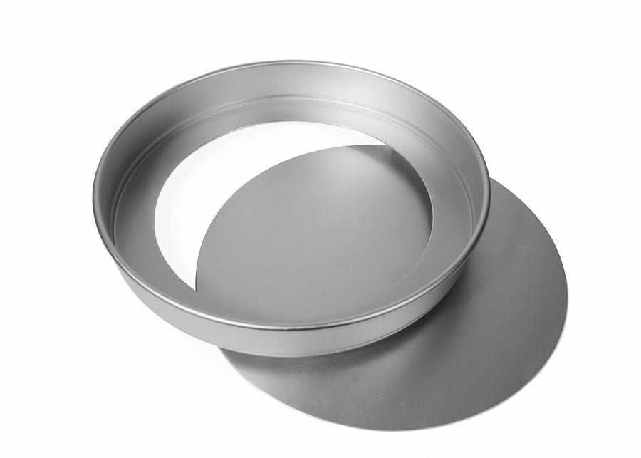 10x1 1/2 INCH ROUND SANDWICH TIN, LOOSE BASE