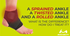 A Sprained Ankle, a Twisted Ankle, and a Rolled Ankle: What is the Difference? How do I treat it?