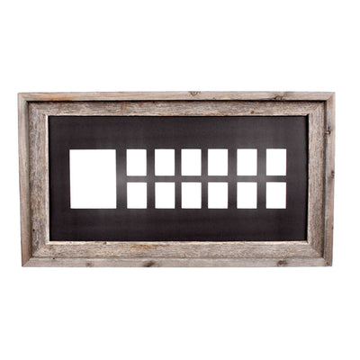 Rustic Farmhouse School Years Matted Picture Frame | 10x20