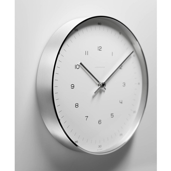 Max Bill Wall Clock with Numbers