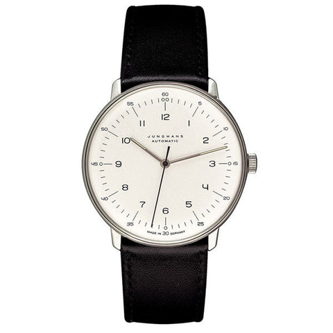 Max Bill Watch Automatic (MB-3500) with Number by Junghans Watches