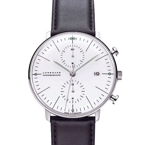Max Bill Chronoscope Watch (MB-4600) by Junghans Watches