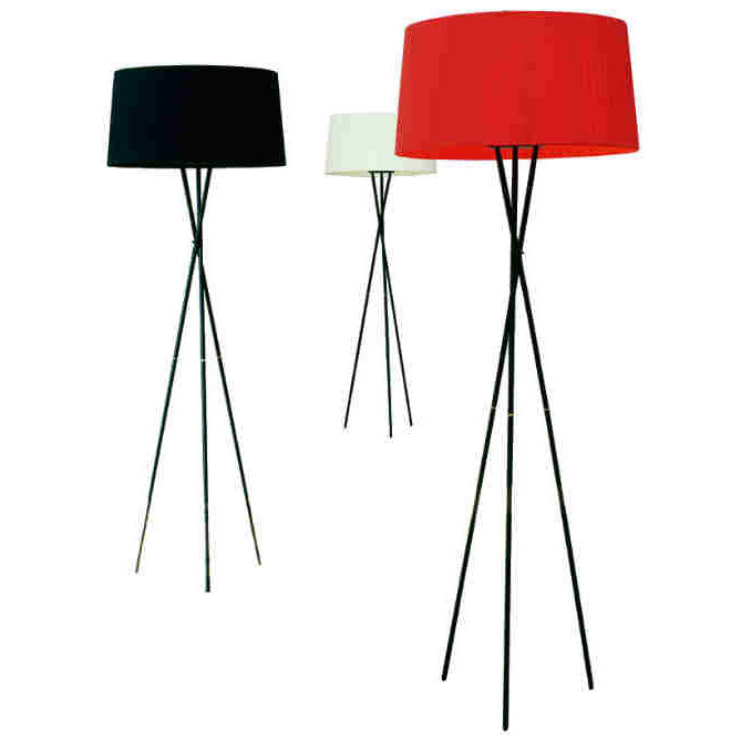 Tripode G5 Floor Lamp by Santa & Cole