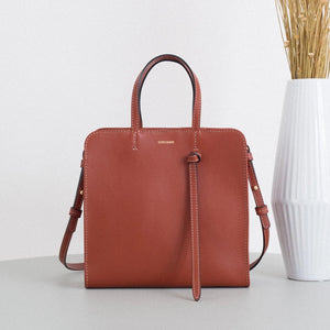 Knot Bag - Cognac Sample (ONLY 2)