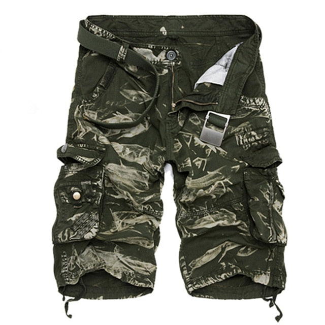 Image of Men's Outdoor Comfort Cargo Shorts - $22.99 - Free Shipping