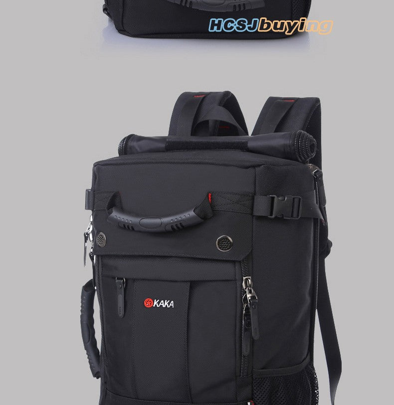 KAKA Brand Stylish Waterproof Large Capacity Backpack Male Luggage Travel Shoulder Bag Computer Backpack Men Multifunctional Bag