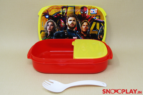 Avengers Lunch Box Back to School Captain America Iron Man Hulk Thor Black Widow Hawkeye Marvel Comics Buy Online India at Best Prices Free Shipping
