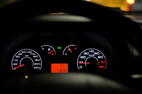Fuel Meter On Dashboard