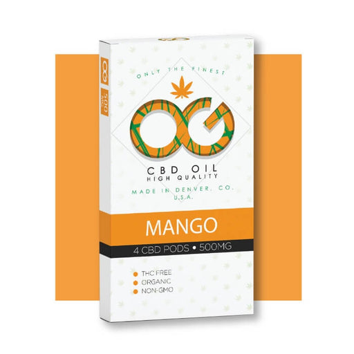 OG CBD Mango Pods by OG Laboratories