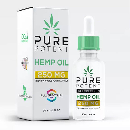 Full Spectrum CBD Oil by Pure Potent