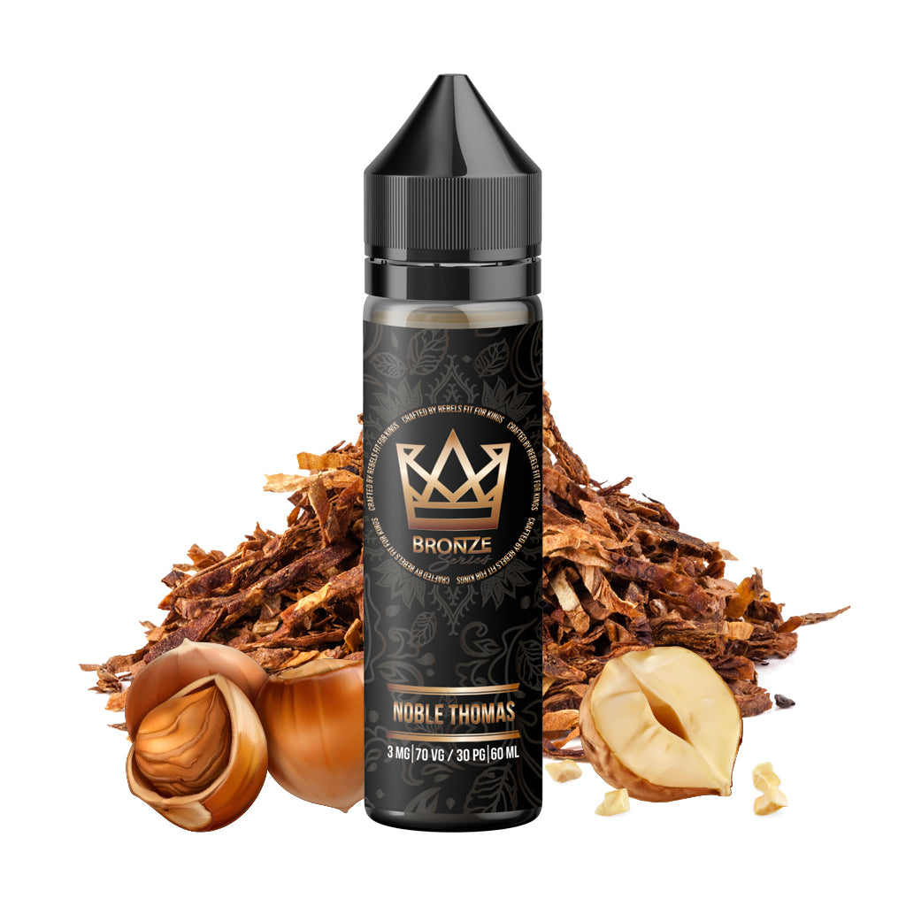 Bronze Noble Thomas - A mingle of nutty hazelnut and fire steamed Cavendish tobacco types