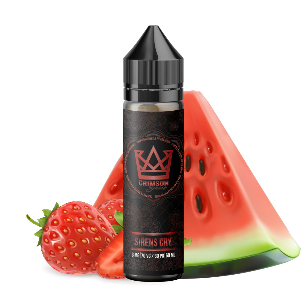 Crimson Sirens Cry - Taste the beauty in simplicity. Devour Sweet Strawberries and Watermelons with a slight tartness