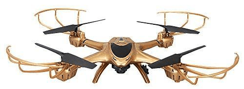 Gold Predator Drone with Altitude Hold Mode