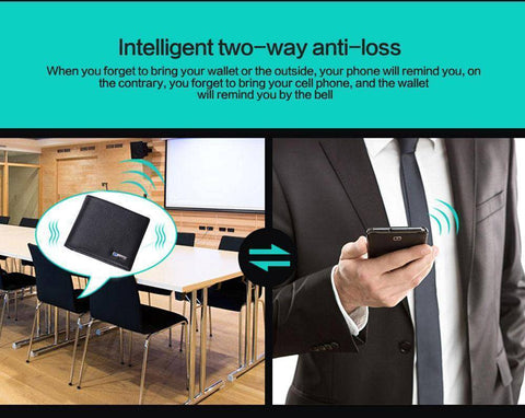 Image of Anti Lost Smart Wallet