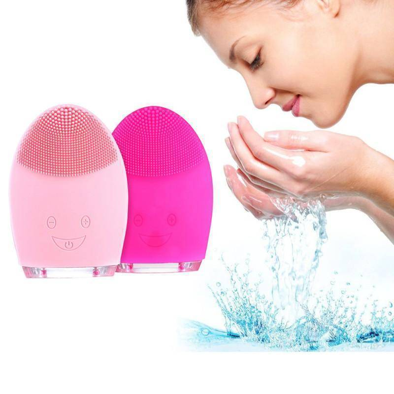 Mini Electric Facial Cleaning Massage Brush