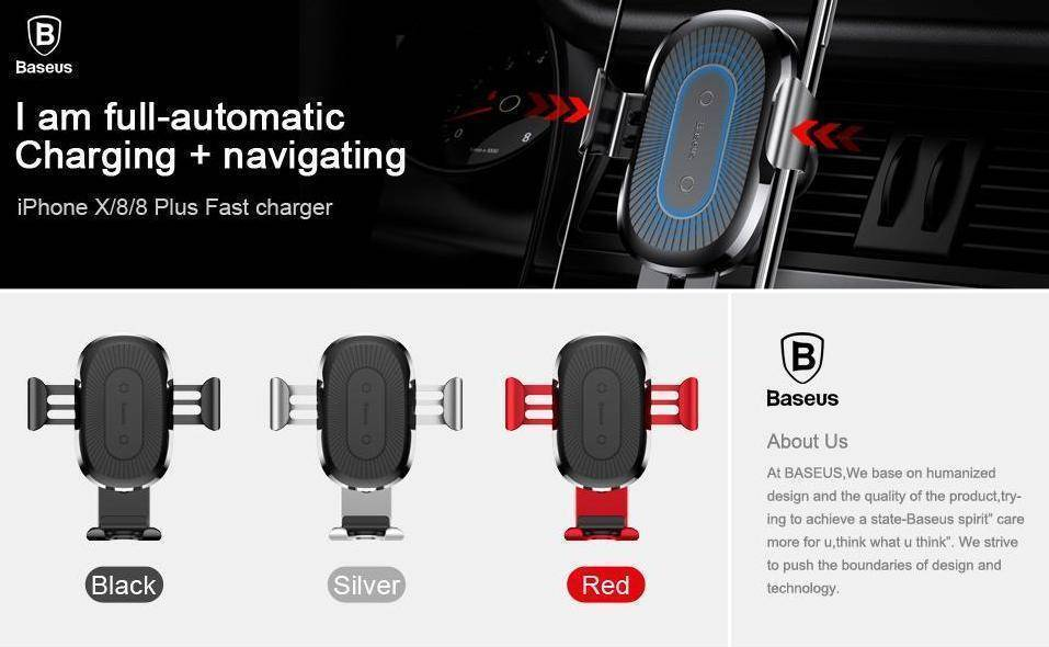 Wireless Charger and Car Phone Holder