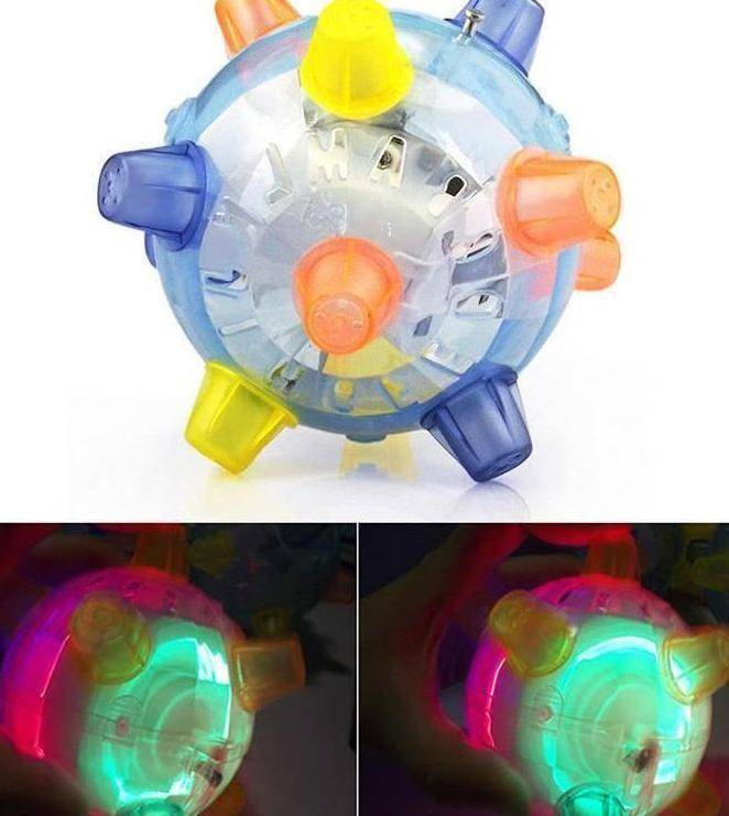 Jumping Glowing Pet Ball
