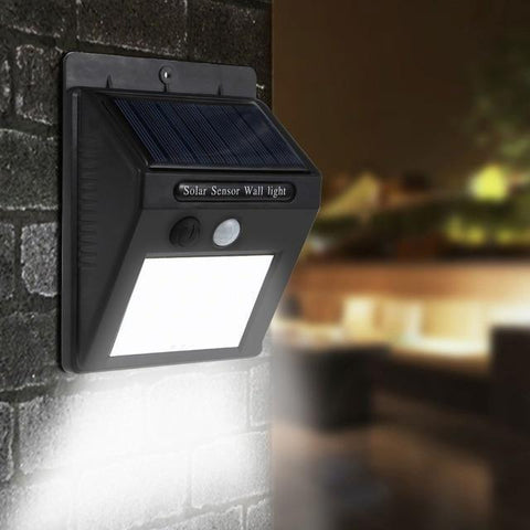 MotionSensor Solar Waterproof Wall Light