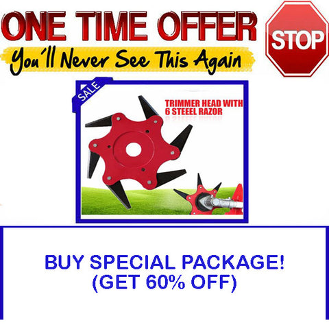 SPECIAL PACKAGE - GET 60% OFF