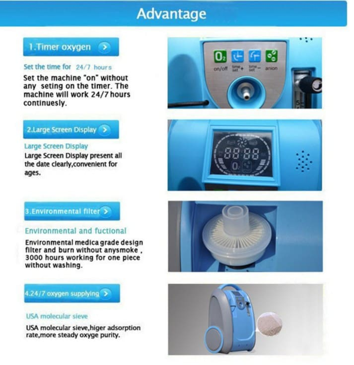 oxygen concentrator (18)