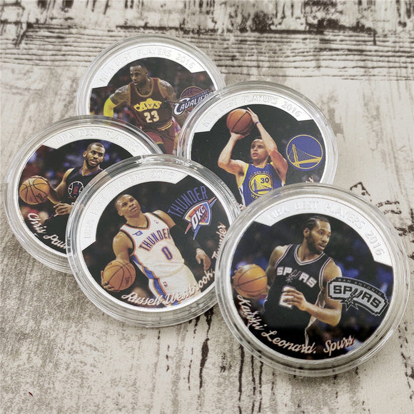 NBA Star 5 Coins Set