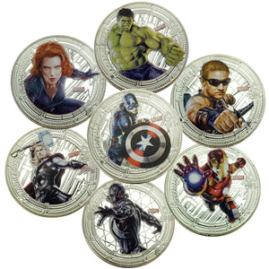The Avengers Superhero Coin Set 1
