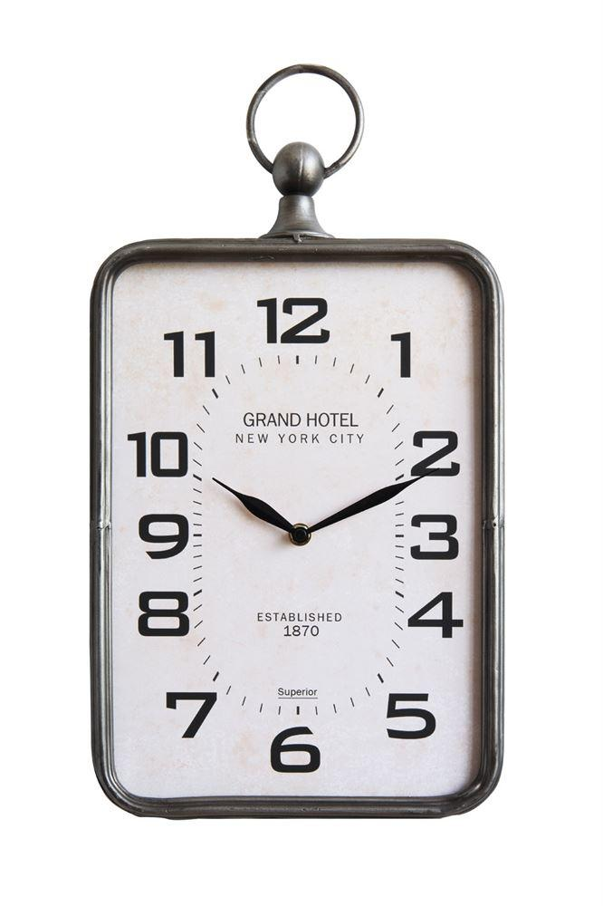 Metal Hanging Clock