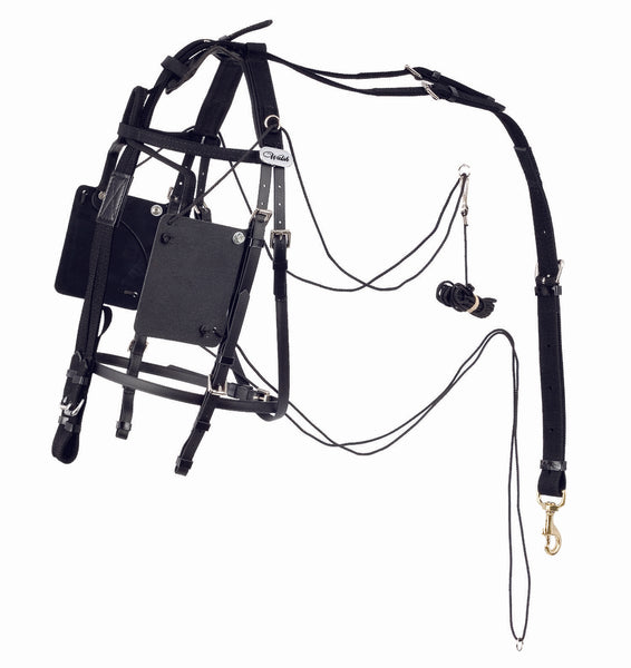 Pull Down Blind Bridle - US Style - 1305-PD-PCN