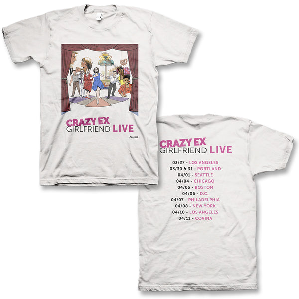 CXG Live T-Shirt (White)