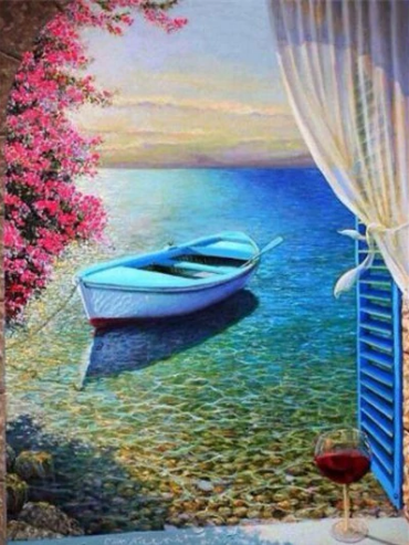 Scenery Full Square Diamond Painting