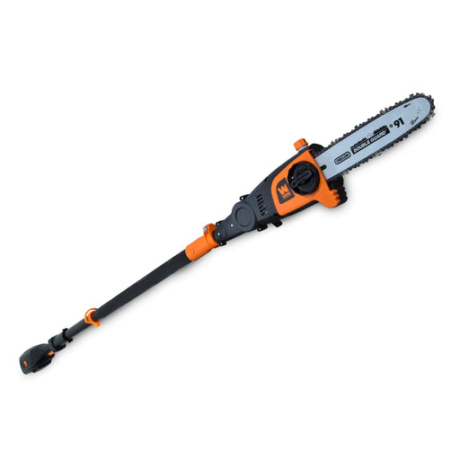 WEN 40421 40V Max Lithium Ion 10-Inch Cordless and Brushless Pole Saw with 2Ah Battery and Charger