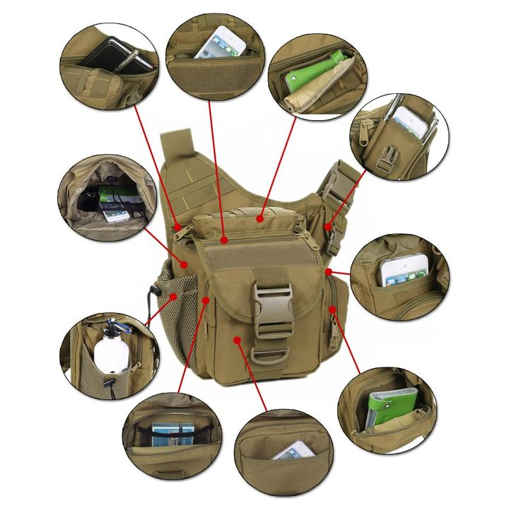Tactical Messenger Bag