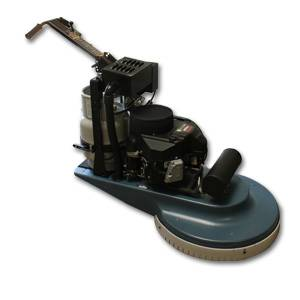 DCP Concrete Burnisher with Dust Control