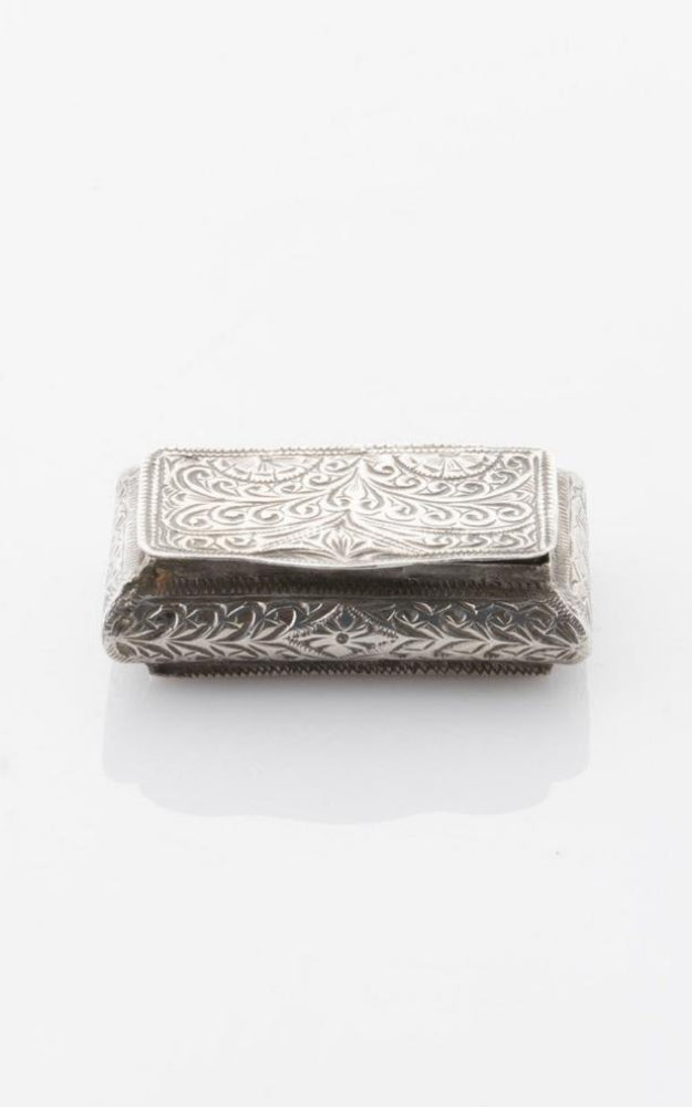 1920's Moroccan Sterling Silver Box