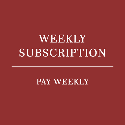 Home weekly coffee subscription - pay weekly