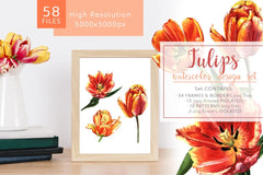 Living Coral Watercolor Bundle Productes 16 a 1 Bundle