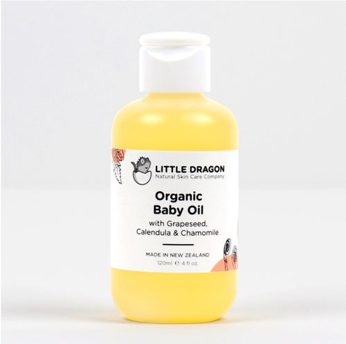 LITTLE DRAGONS-ORGANIC BABY OIL