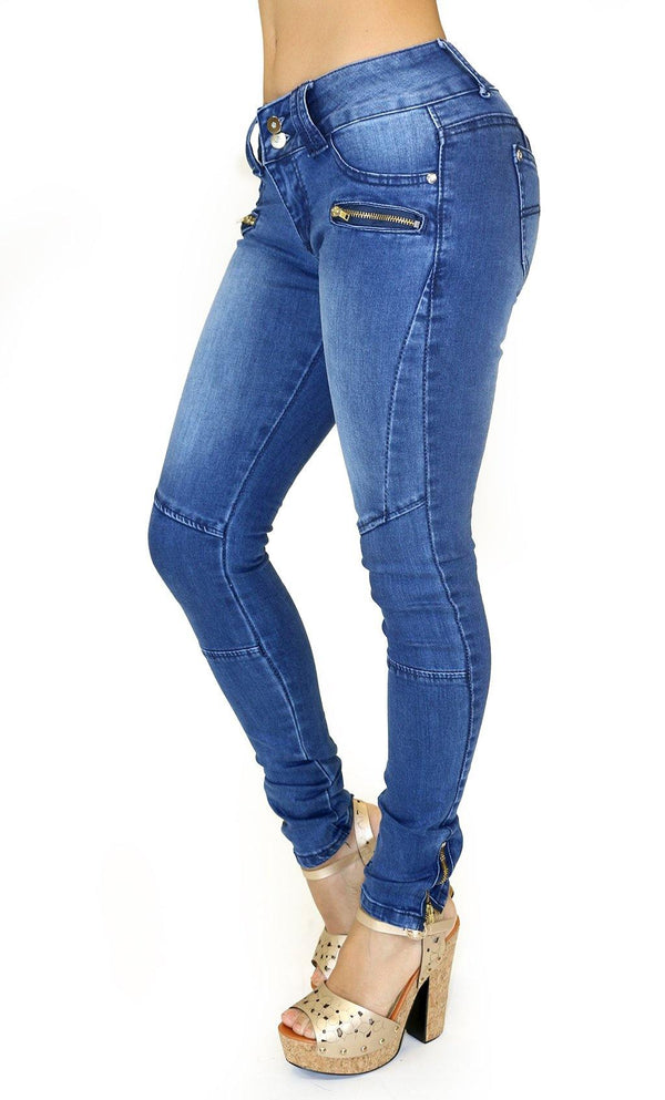 1005 Dear Body Zippered Skinny Jean