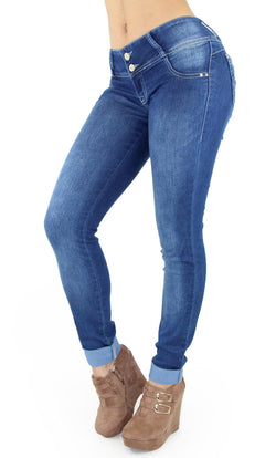18370 Maripily Women's Butt Lifting Skinny Jean