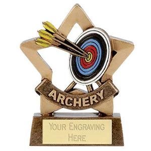 "Mini Stars Archery Award 8cm (3 1/4"")"