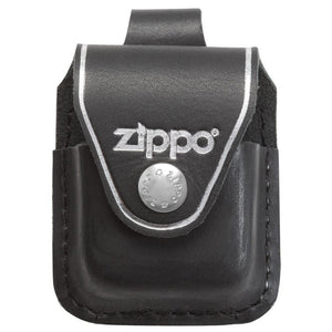 ZIP850 ZIPPO BROWN LEATHER LIGHTER POUCH WITH LOOP LPLB