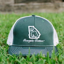 Georgia Cotton Apparel Trucker Hat in Green