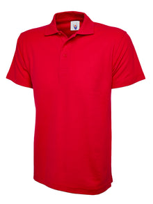 Uneek Classic Polo Shirt Red UC101