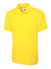 Uneek Childrens Polo Shirt Yellow UC103