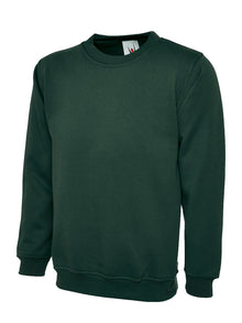 Uneek Classic Sweatshirt Bottle Green UC203