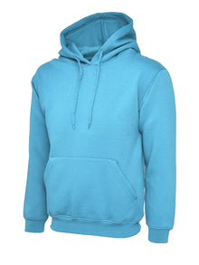 Uneek Classic Hooded Sweatshirt Sky UC502